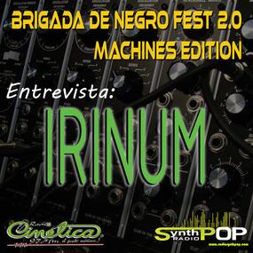 Entrevista Irinum - Brigada de negro fest 2.0 - 27/06/13