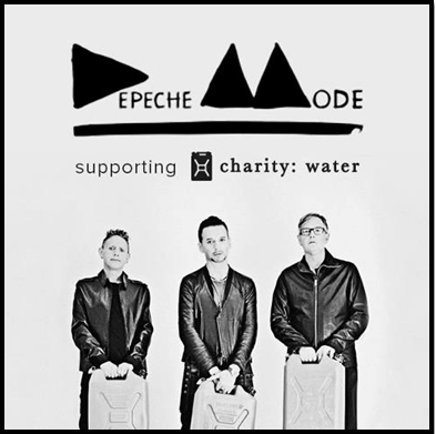 Sigue a Depeche Mode y dona agua