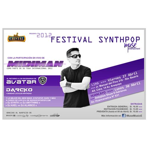 Festival Synthpop 2012 Lima y Huancayo