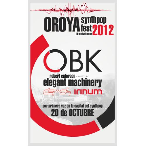 Festival Synthpop Music Fest 2012 Lima y La Oroya