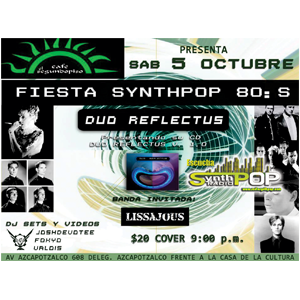 Fiesta Synthpop 80´s